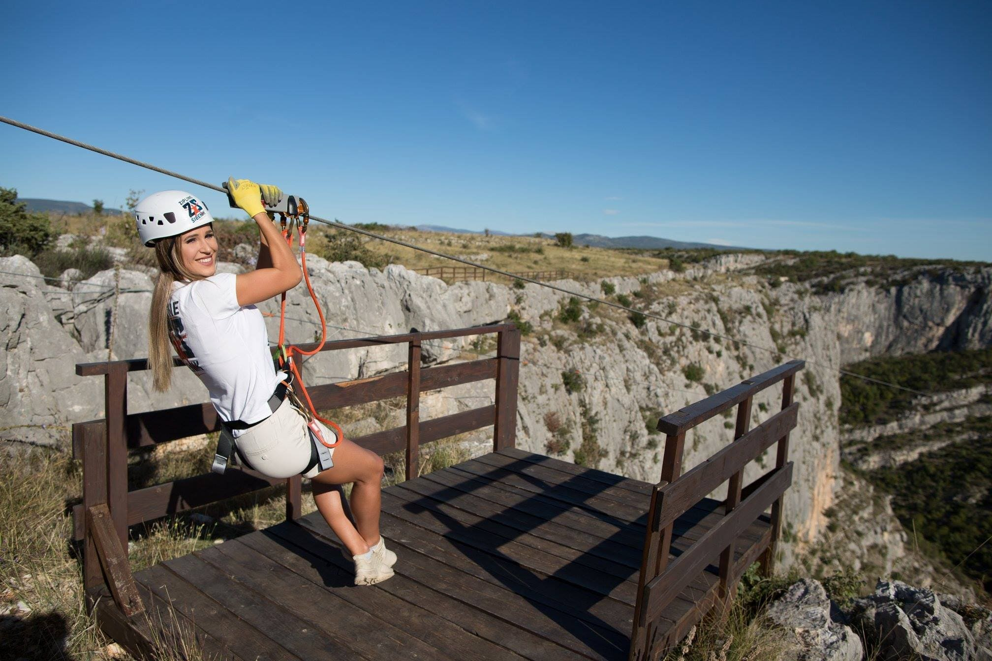 Zipline Šibenik - Čikola Canyon