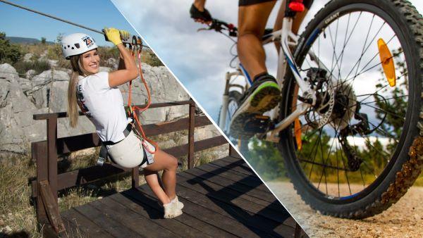 Zipline & Roški slap - Adrenalin boost in national park