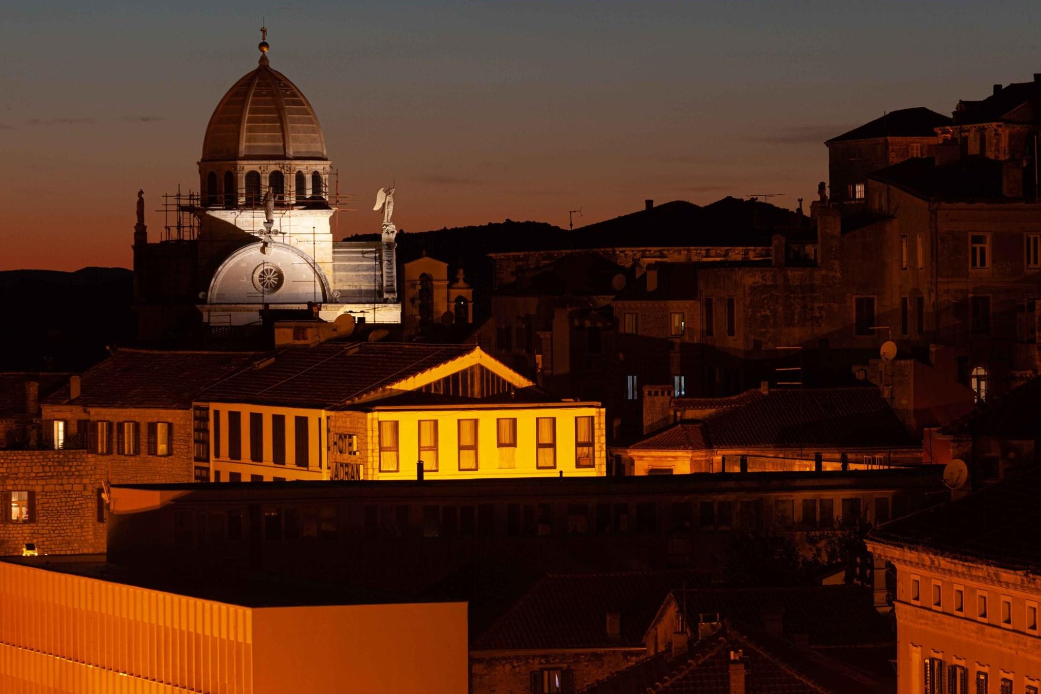 Šibenik night ride - City by night